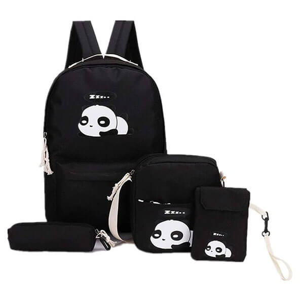 Water Repellant Panda Backpack for Kids