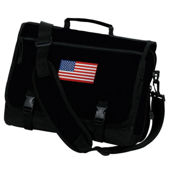 Love USA Denier Fabric Messenger Bag