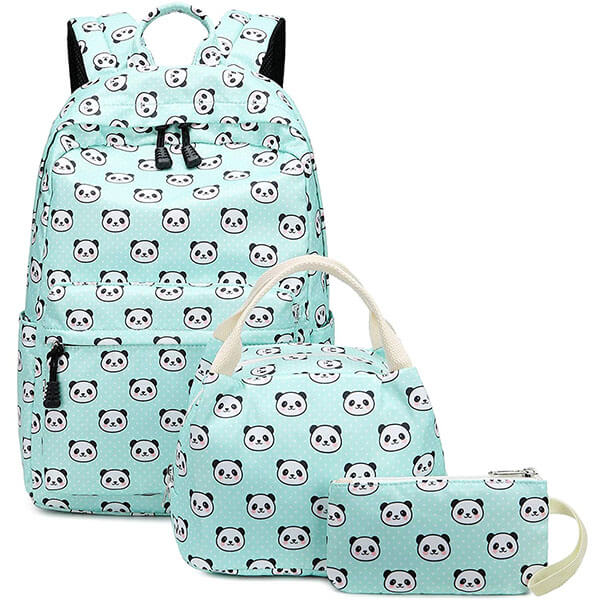 Waterproof Panda Backpack for Teenagers