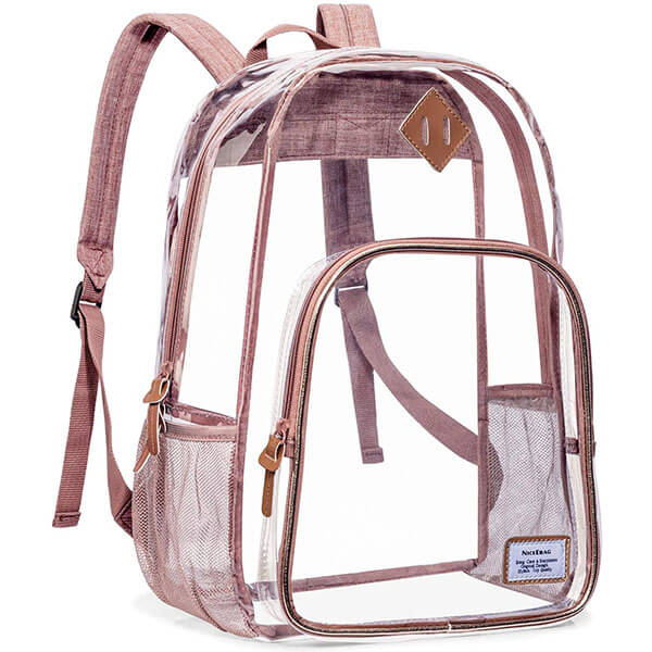 NFL and PGA Tournament Clear Backpack