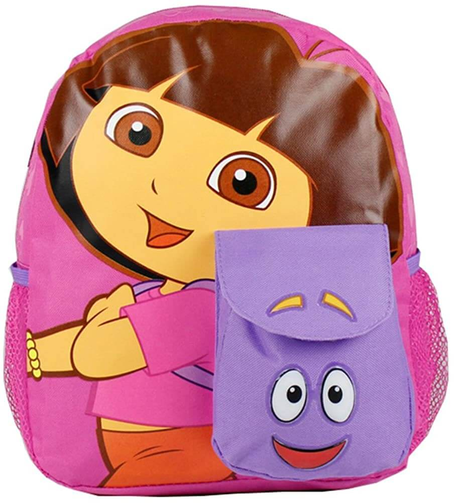 Cordura Fabric Dora Backpack With Cute Front