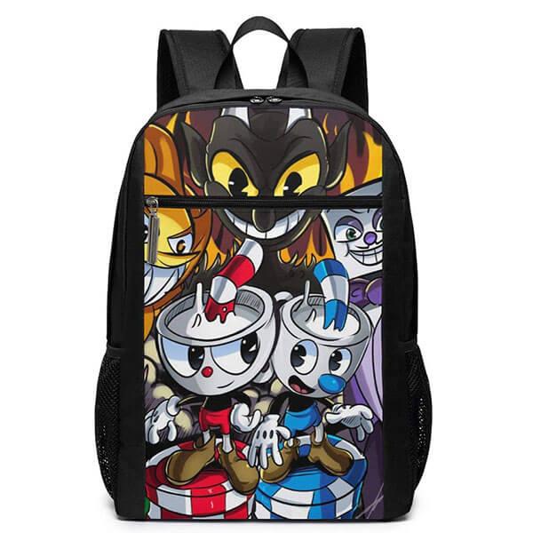 Cuphead- School Lightweight Laptop Backpack