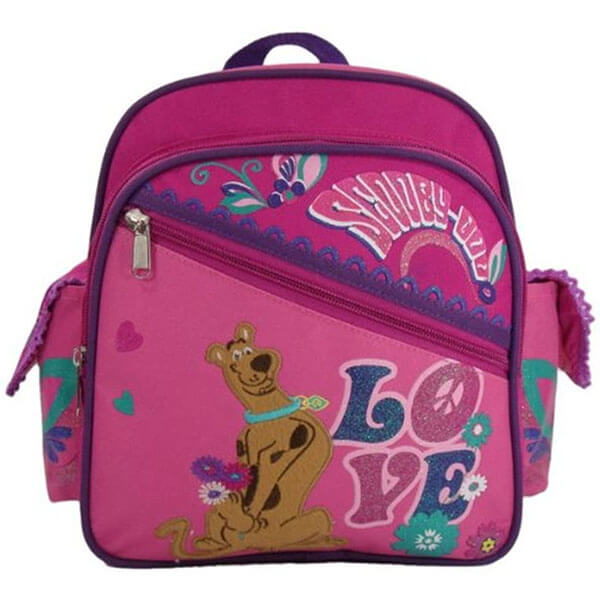 Girls Favorite Scooby Pink Backpack