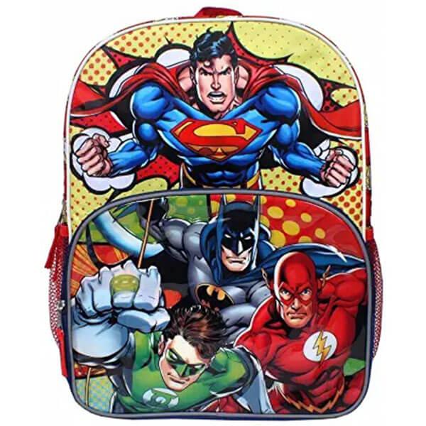 Green Lantern Batman Superman Backpack