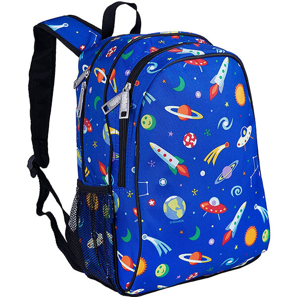 Out of This World Blue Galaxy Bookbag