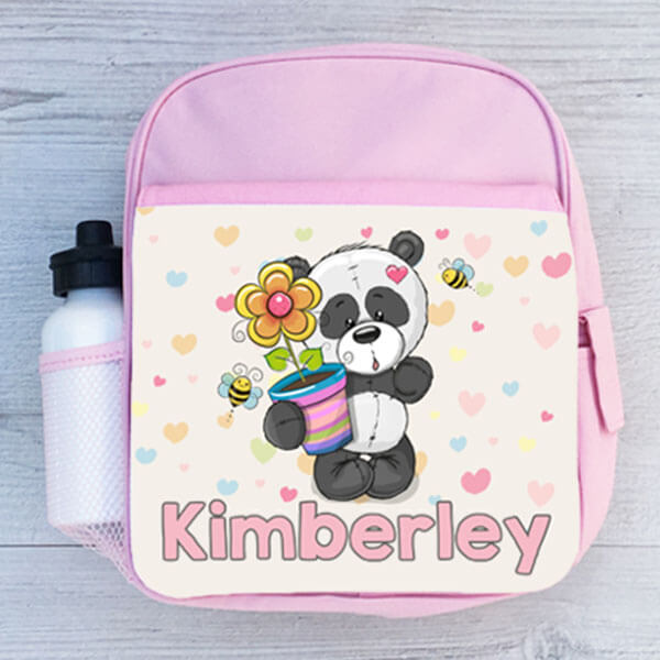 Sweet Pink Color Kids Mini Backpack for School