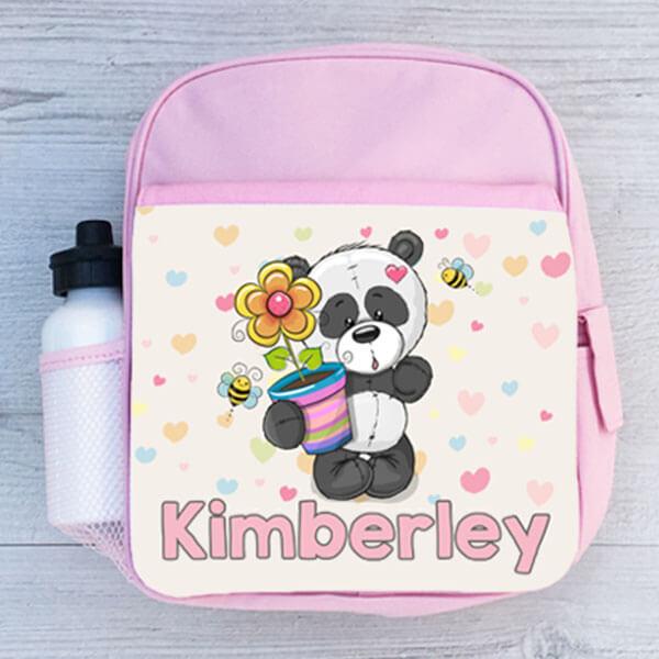 Sweet Pink Color Kids Mini Backpack for School