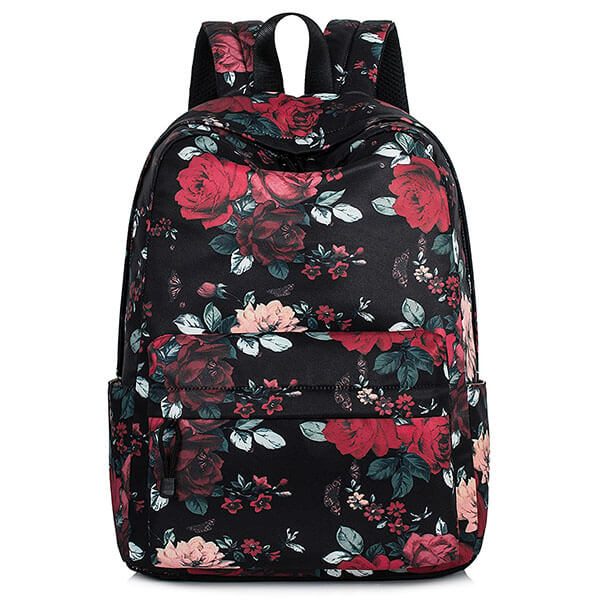 Vintage Rose Backpack for School