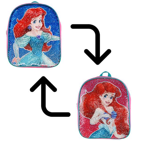 Ariel-The Little Mermaid Sequin Bookbag