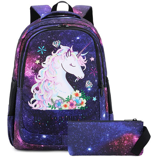 Colorful Fairytale Children's Backpack