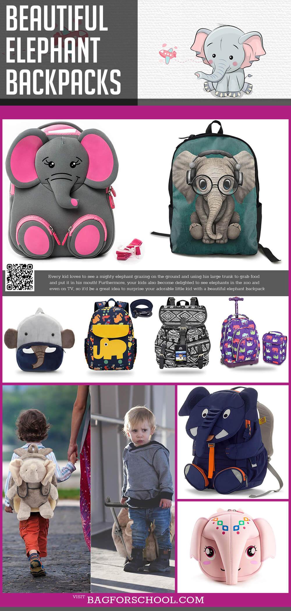 Elephant Backpacks