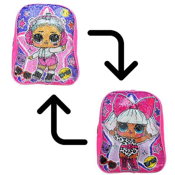 LOL Surprise! Girls Sequin Backpack