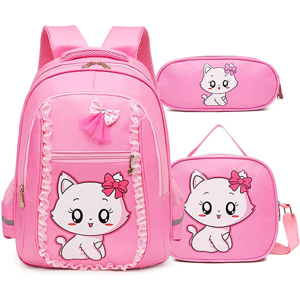 Princess Cat Lightweight Lace Backpack