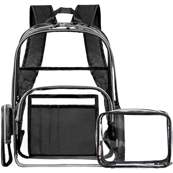 Waterproof PVC 15.6 Inch Laptop Backpack
