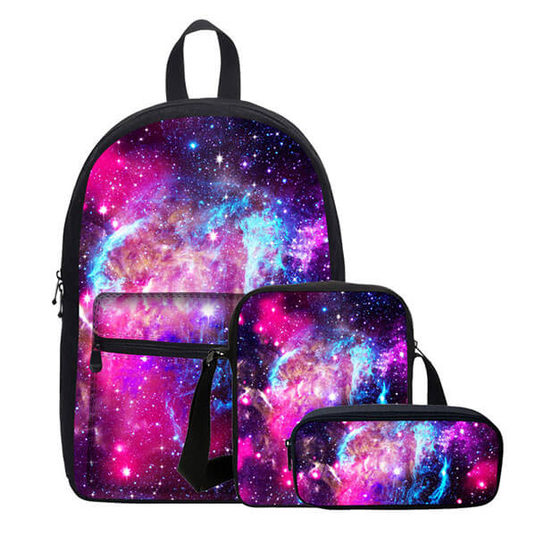 Designer Canvas Space Backpack for School