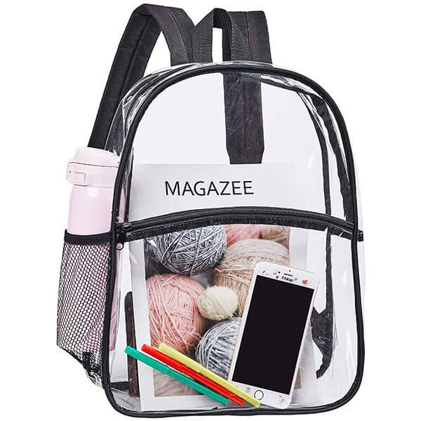 Concert Security Outdoor Transparent Backpack