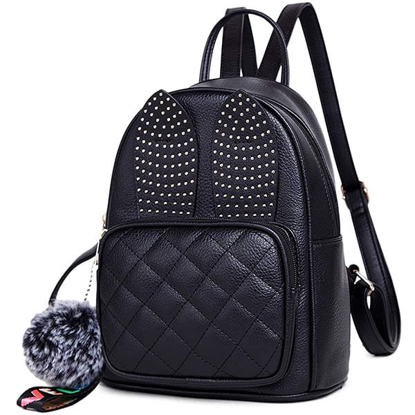Cute Rabbit Ears Girls Mini Backpack