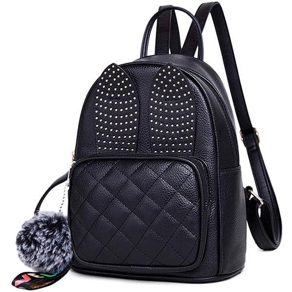 Cute Rabbit Ears Girls Mini Backpack