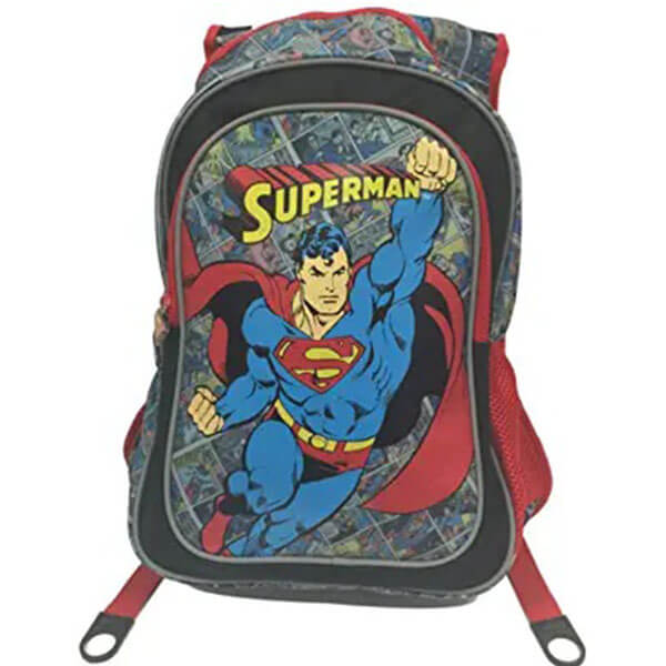 Flying Superman Grade Schooler Backpack