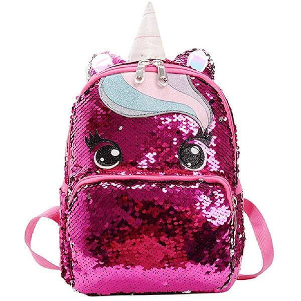 Glitter Unicorn Sequin Backpack