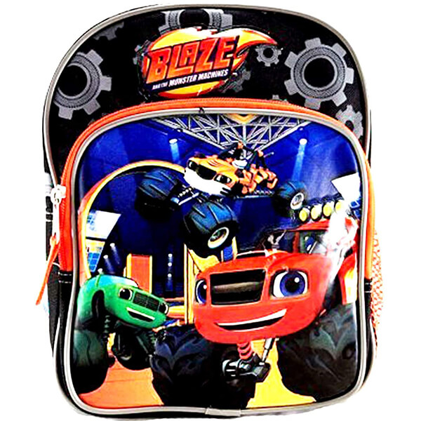Multicolor Toddler Monster Backpack