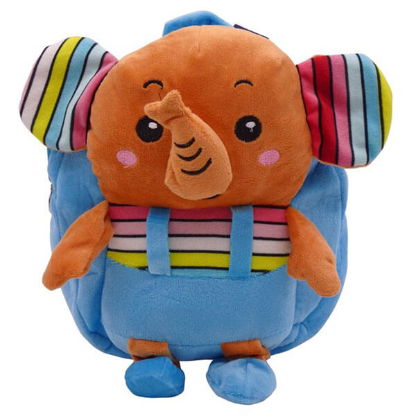 3D Elephant Backpack With Cute Trunk And Ear