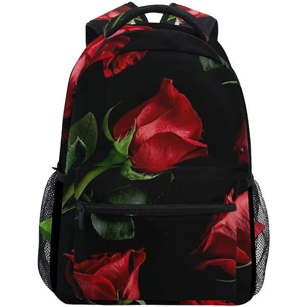 Camping Rose Backpack for Youngsters