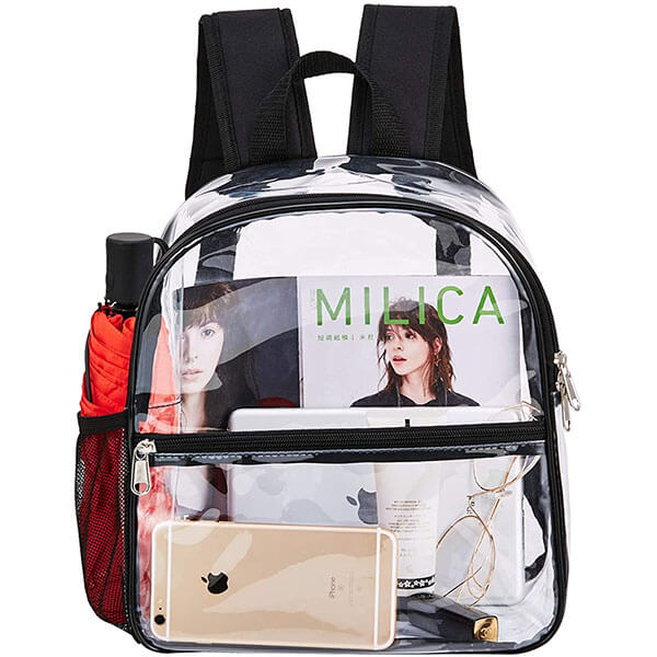 Cold-Resistant Water-proof Clear Backpack