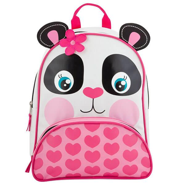 Flower Panda Bear Backpack for Kids