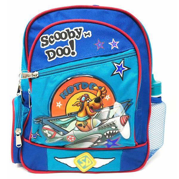 Multi-pocket Canvas Backpack for Preschooler