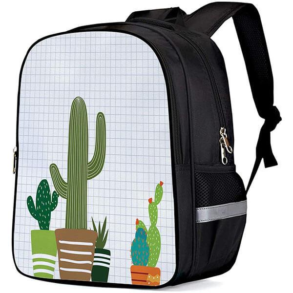Oxford Cactus Potted Bookbag