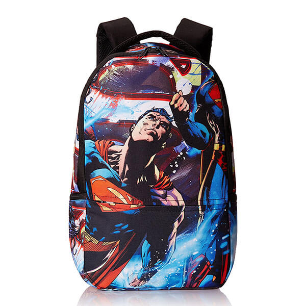 Polyester Sublimation Superman Backpack