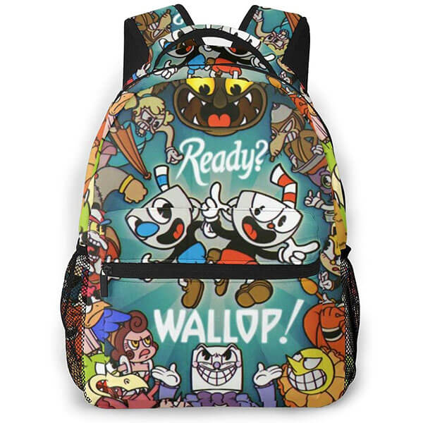 Wallop - Casual Cuphead Backpack for Boys