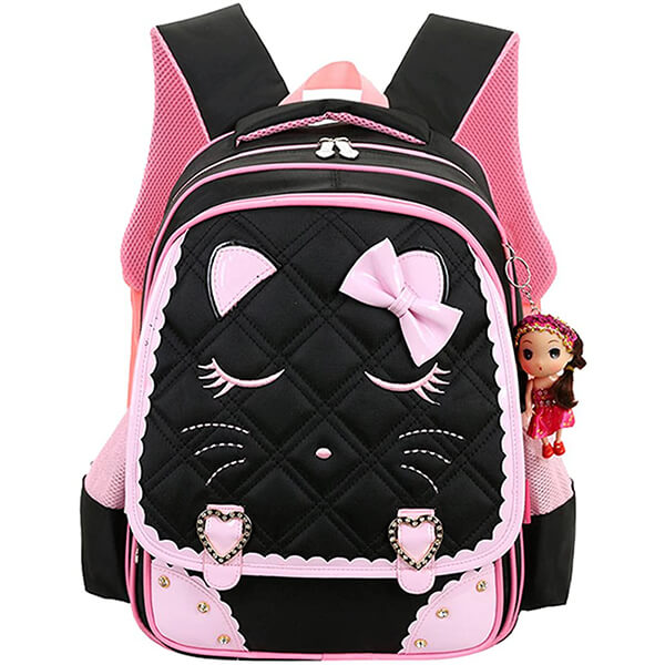 Waterproof Primary Students Cat School Backpack