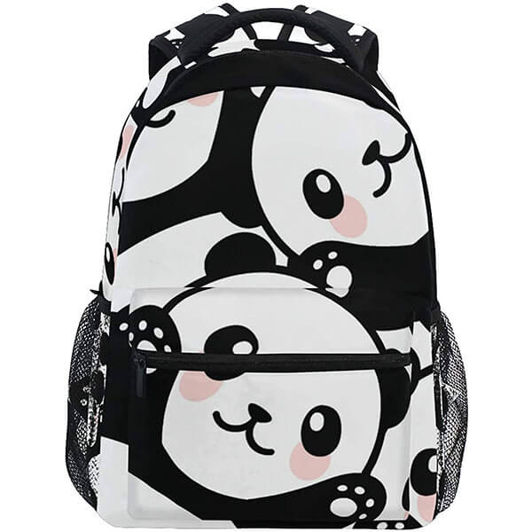 Casual Panda Bear Backpack for Youth