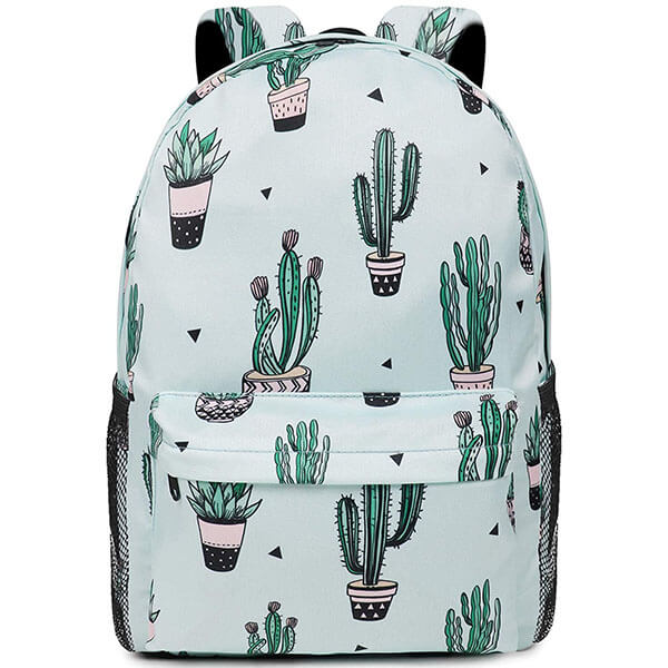 Ultralight Cactus Backpack for College Students