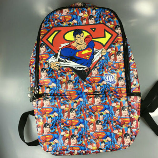 X' mas Gift Avengers Superman Backpack