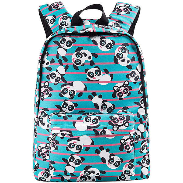 Bohemian Ethnic Panda Bear Back for Teenagers