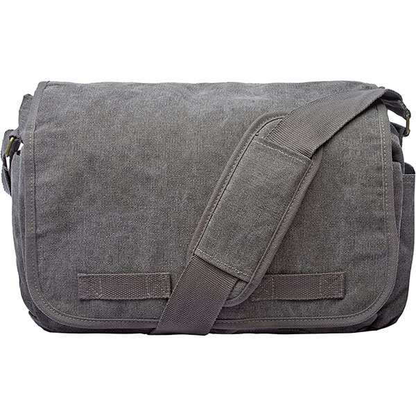 Classic All-Purpose Cotton Messenger Bag