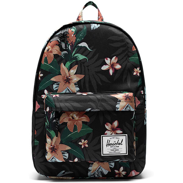 Classic Synthetic Grade Schoolers Leafy Flower Backpack