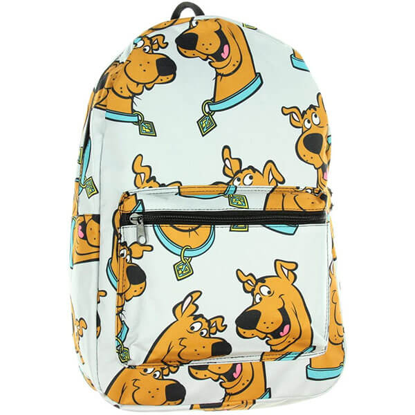 Floating Scooby Head Backpack for College