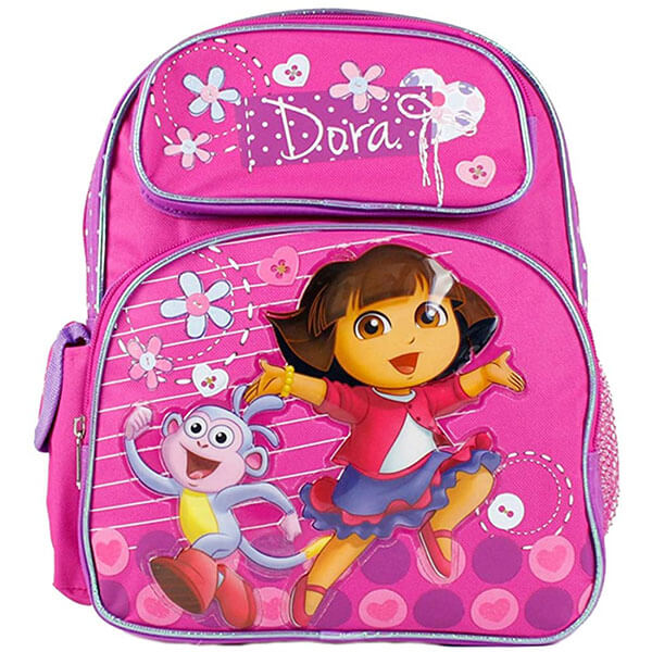 Jump With Dora and Boots Toddlers Backpack