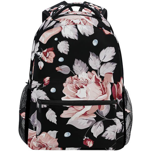 Outdoor Rose Bookbag for Adults