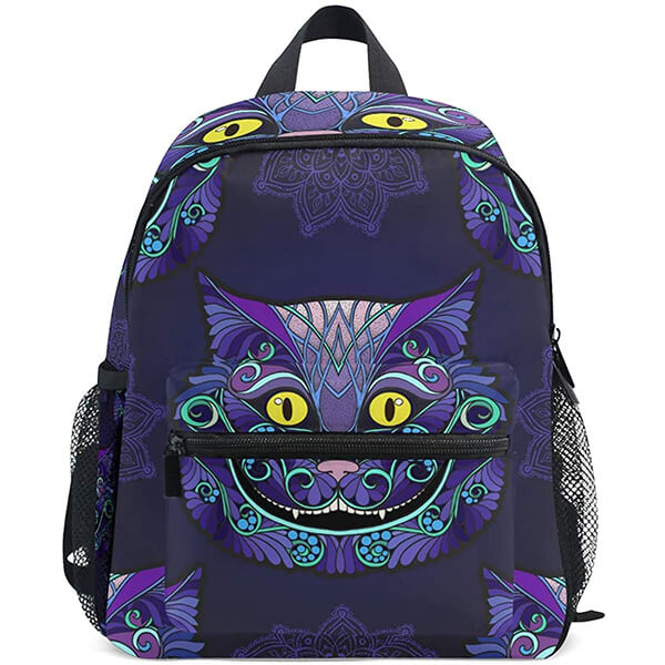 Twill Cloth Cheshire Cat Backpack for School