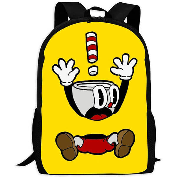 3D Custom Cartoon Book Bag for Youngsters