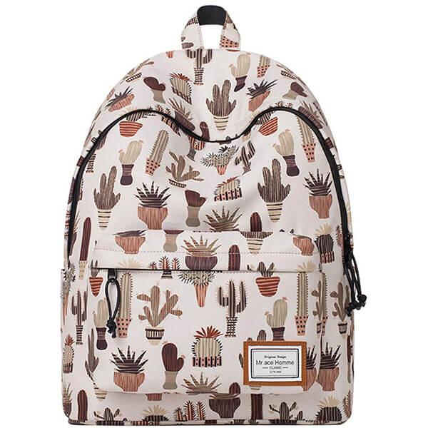 Anti-wrinkle Cactus Backpack