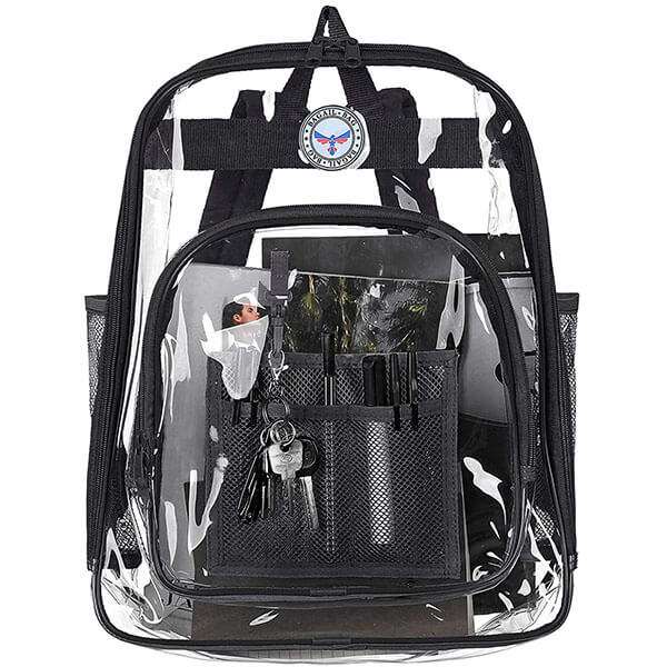 Freeze-Proof Lead-Free Clear Backpack
