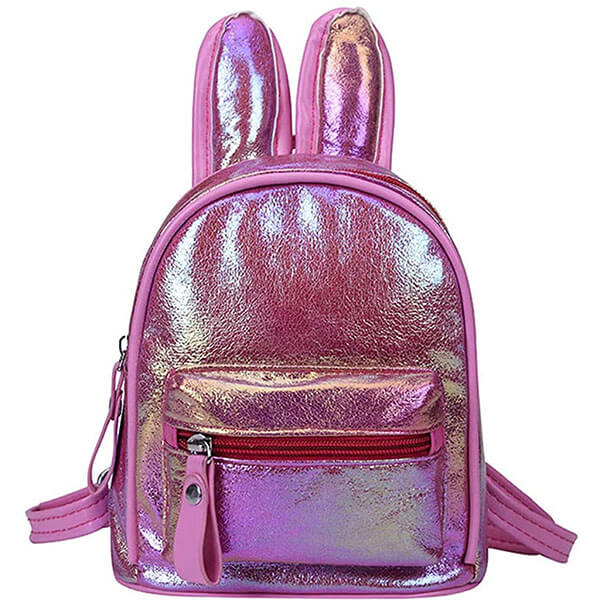 Hologram Cute Rabbit Ear Backpack