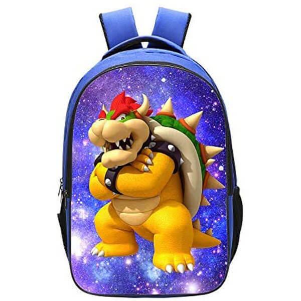 Blue Bowser Kids Backpack