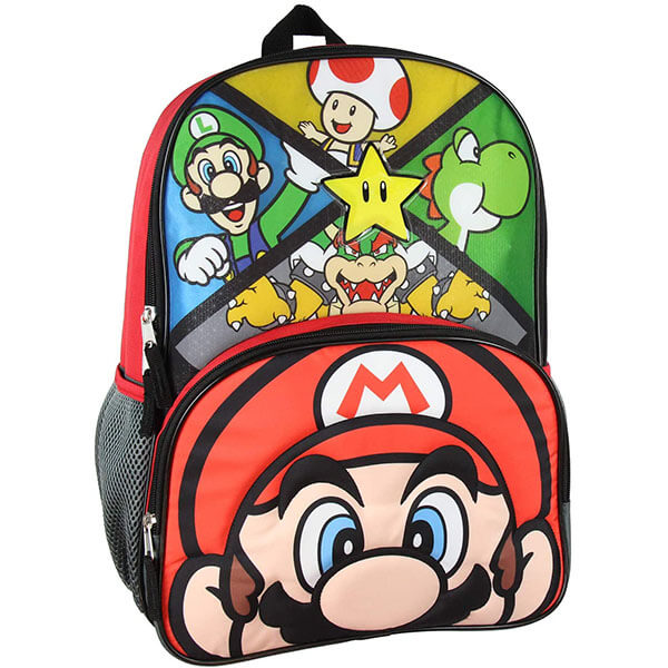 Super Mario Bros Backpack with LED Lights